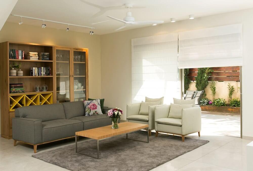 בית בשוהם, עיצוב: אורי גנון, צילום: שירן כרמל                >