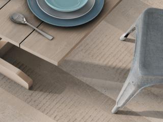 ריצוף לבית ולחוץ - דמוי פרקט צבעוני