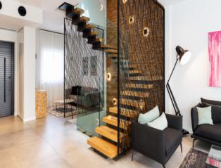 בית בפתח תקווה, עיצוב מיטל קרופ, צילום: רז רוגובסקי